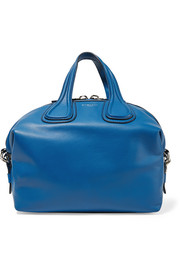 Medium Nightingale bag in cobalt-blue leather