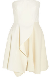 Stella McCartney Marcy stretch-wool and wool-blend crepe mini dress
