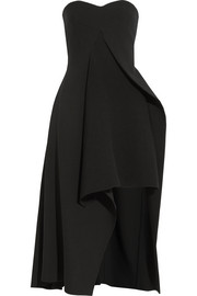 Stella McCartney Malia stretch-wool and crepe midi dress