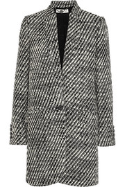 Bryce wool-blend tweed coat