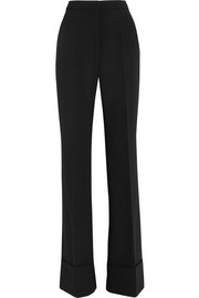 Dakota stretch-wool flared pants