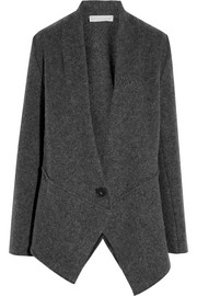 Extensions wool-blend jacket