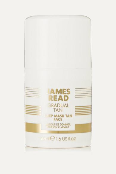 JAMES READ SLEEP MASK TAN FACE, 50ML - COLORLESS