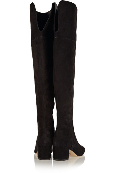 7466a5f0baf3 Sam Edelman. Elina suede over-the-knee boots. £110. Zoom In