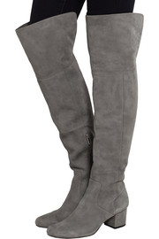 Elina suede over-the-knee boots