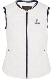 Quilted shell vest