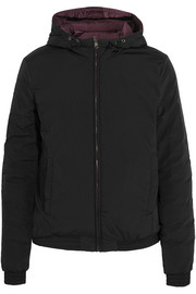 Meoni hooded reversible shell jacket