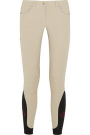 Stretch-jersey jodhpurs