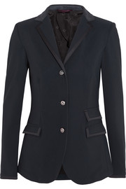 Eleganza stretch-crepe riding jacket