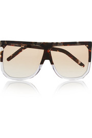 Filipa aviator-style acetate sunglasses