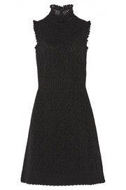 Alexander McQueen Cotton-blend lace dress