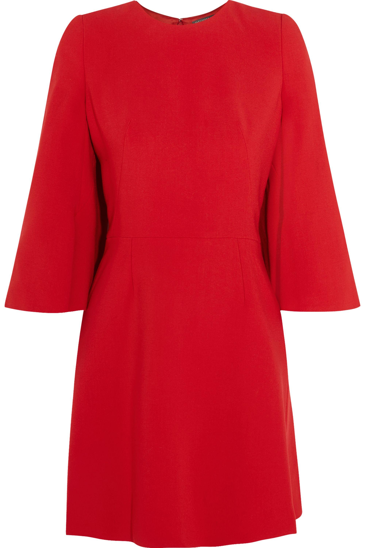 Alexander McQueen Stretch-woven mini dress