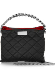 Soft Beckett medium quilted faux leather shoulder bag