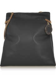 Noma faux leather shoulder bag