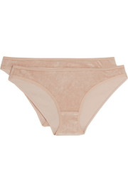 Set of two Mississipi modal-blend terry briefs