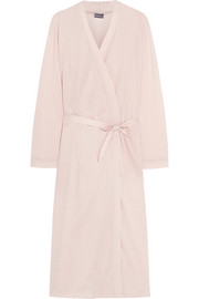 Cotton-jersey robe