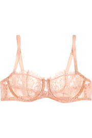 Love Poems Chantilly lace balconette bra
