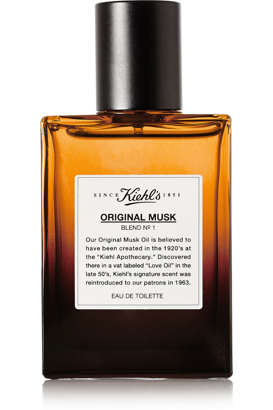 Original Musk Blend No. 1 Eau De Toilette, 50ml, by Kiehl's Since 1851