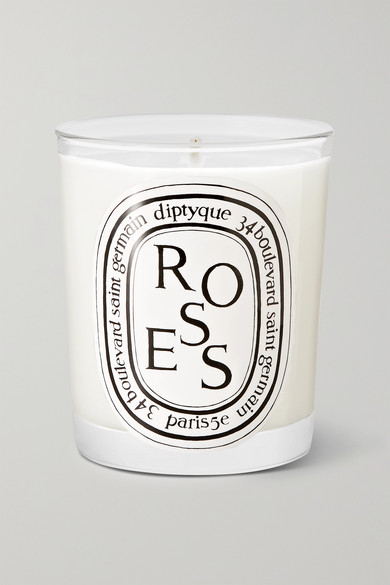 DIPTYQUE Roses Scented Candle, 190G in Colorless