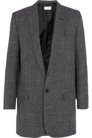 Wool-tweed blazer