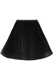 Saint Laurent Tulle mini skirt