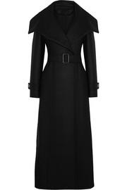 Esen felted wool-blend coat