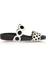 Sophia Webster Yayoi leather slides