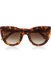 Thierry Lasry Cat-eye acetate sunglasses