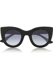 Thierry Lasry Oversized cat-eye acetate sunglasses