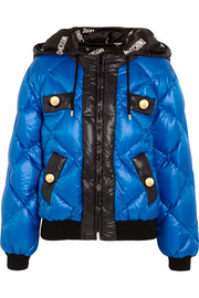 Moschino Quilted shell coat