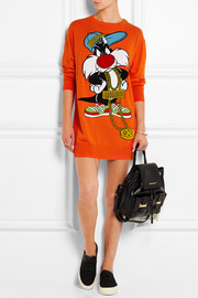 Sylvester intarsia wool sweater dress