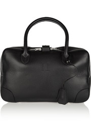 Equipage small textured-leather tote