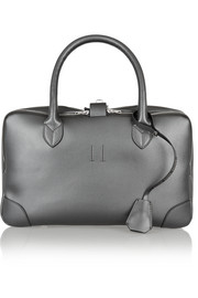 Equipage small metallic leather tote