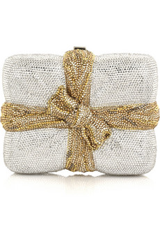 Judith Leiber | Package clutch | NET-A-PORTER.COM from net-a-porter.com
