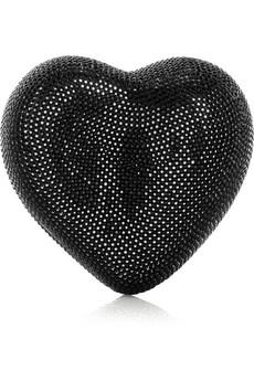 Judith Leiber|Heart N Soul clutch|NET-A-PORTER.COM from net-a-porter.com