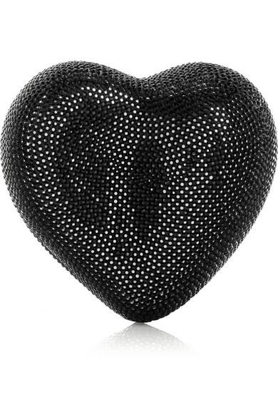 92d2f96de641f Judith Leiber. Heart N Soul clutch