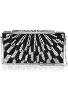 Judith Leiber|Sunburst crystal-embellished clutch|NET-A-PORTER.COM from net-a-porter.com