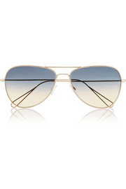 Isabel Marant Matt aviator-style metal sunglasses