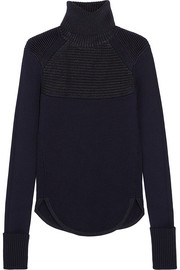 Hess merino wool-blend turtleneck sweater