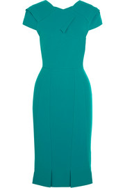 Linte stretch-crepe dress