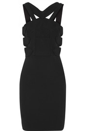 Altamira cutout stretch-crepe mini dress