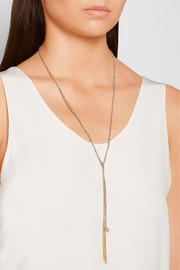 Balance Lucky 18-karat gold necklace