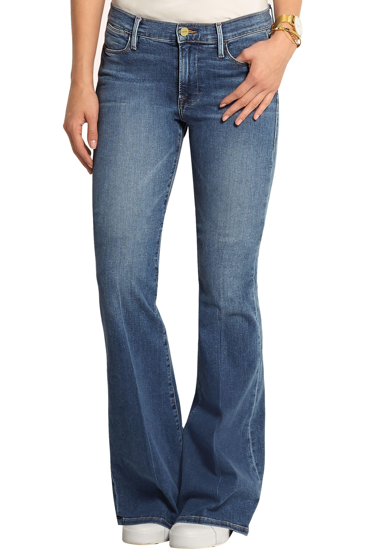 FRAME Le High Flare high-rise jeans