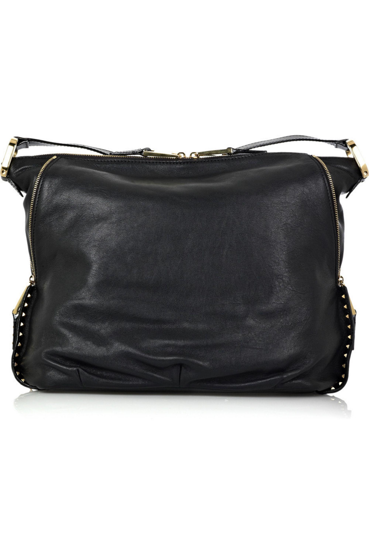 Runway Marc Jacobs Kate leather shoulder bag
