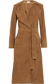 Le Duster suede coat