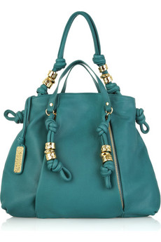 Michael Kors | Roslyn leather shoulder bag | NET-A-PORTER.COM from net-a-porter.com