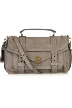 Proenza Schouler | PS1 medium leather satchel | NET-A-PORTER.COM from net-a-porter.com