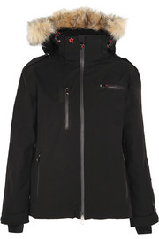 Qanuk Pro II padded canvas ski jacket