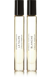 Perfumed Oil Roll-On Set - La Tulipe & Blanche, 2 x 7.5ml
