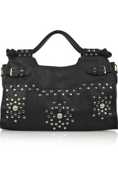 Temperley London | Electric Handheld studded leather bag | NET-A-PORTER.COM from net-a-porter.com
